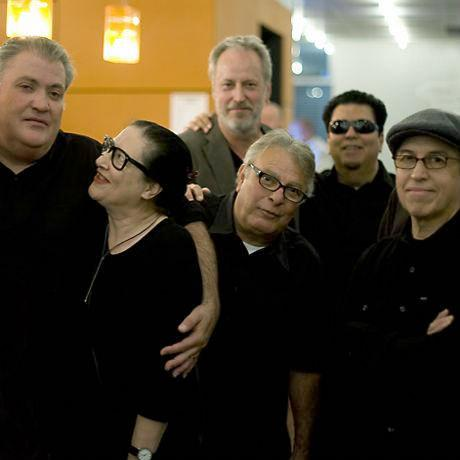 Los Lobos backstage