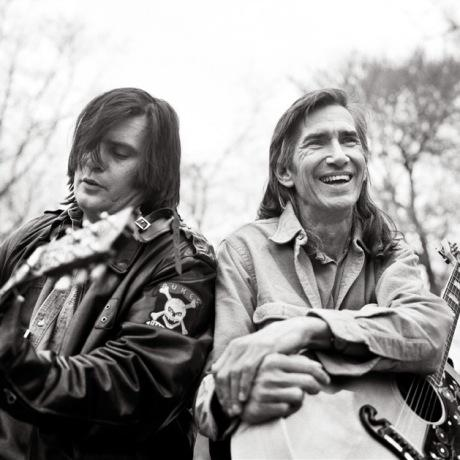 Steve Earle en Townes Van Zandt